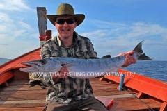 Barracuda Fiskeri Thailand Khao Lak