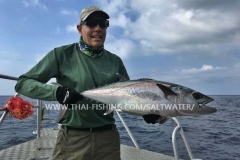 Dogtooth Tuna Fiskeri Similan Islands Thailand