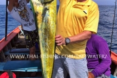 Dorado Fiskeri Khao Lak Thailand
