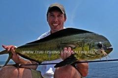 Dorado Fluefiskeri Khao Lak Thailand
