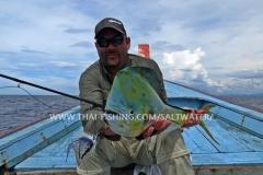 Fluefiskeri for Dorado i Khao Lak Thailand
