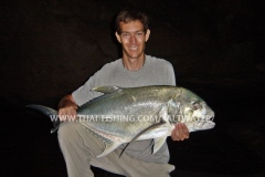 Giant Trevally Fiskeri Thailand - Rev Fiskeri Khao-Lak