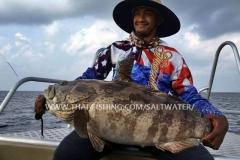 Jigging Fiskeri Similan Islands Thailand