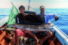 Sejlfisk Fiskeri Khao Lak Thailand