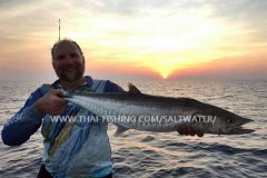 Spanish Mackerel Fiskeri Similan Islands Thailand