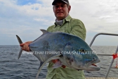 Bluefin Trevally Fishing Similan Islands Thailand