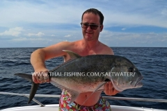 GT Fishing Similan Islands Thailand