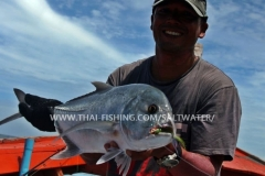 Giant Trevally Fly Fishing Khao Lak Thailand