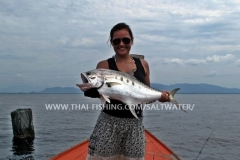 Queenfish Fishing Khao Lak Thailand