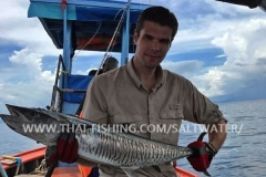 Spanish Mackerel - Longtailboat Fishing Khao Lak Thailand