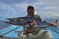 Wahoo Fly Fishing Similan Islands Thailand
