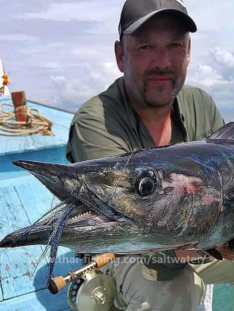 Wahoo Fly Fishing Thailand