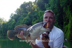 Giant-Snakehead Fishing Thailand - Jungle Lake Fishing