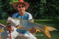 Hampala Barb Fishing - Jungle Lake Fishing Thailand