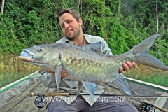 Mahseer Fly Fishing - Jungle Lake Fly Fishing Thailand