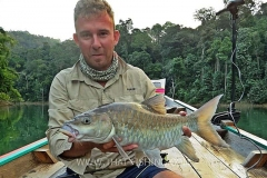 Mahseer Fly Fishing - Jungle Lake Fly Fishing