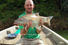 Thai Mahseer Fishing - Jungle Lake Fishing Thailand