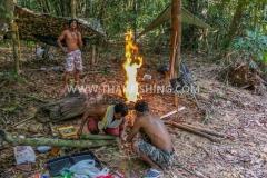 Jungle Fishing Camping Thailand Thailand