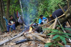 Mahseer Fly Fishing Camping Trips Thailand