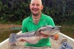 Giant-Snakehead-Fiskeri-Jungle-Sø-Fiskeri-Thailand
