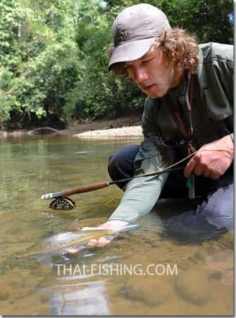 Dry Fly Fishing Thai Mahseer