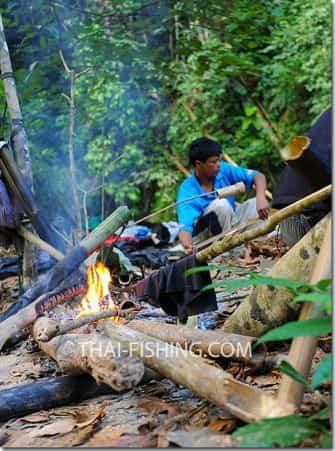 Tørfluefiskeri Thai Mahseer